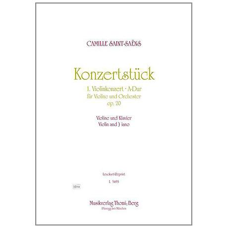 Saint-Saens, C.: Konzertstück A-Dur Op.20 (Konzert Nr. 1)