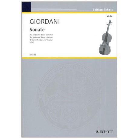 Giordani, T.: Violasonate B-Dur
