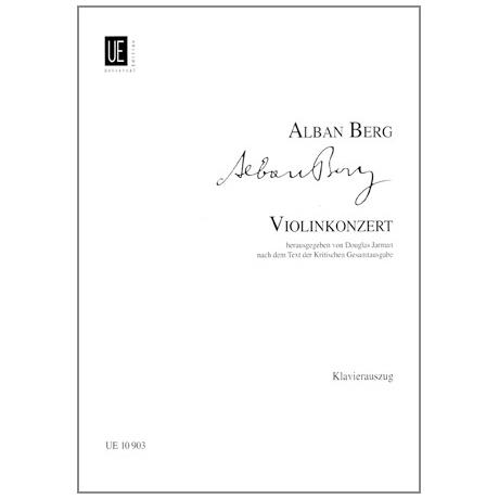 Berg, Alban: Violinkonzert