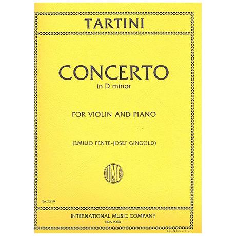 Tartini, G.: Konzert d-Moll