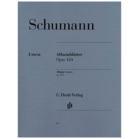 Schumann, R.: Albumblätter Op. 124