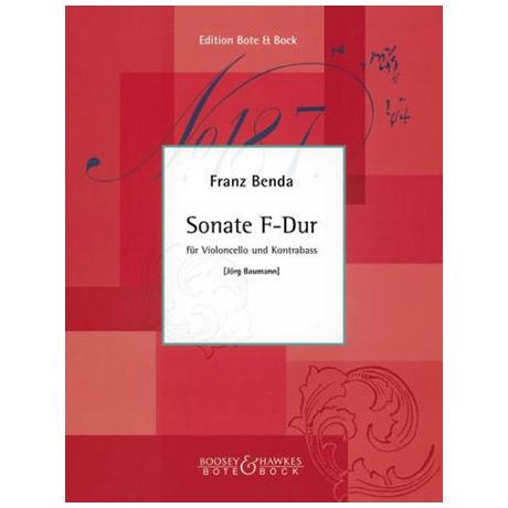 Benda, F.: Sonate F-Dur