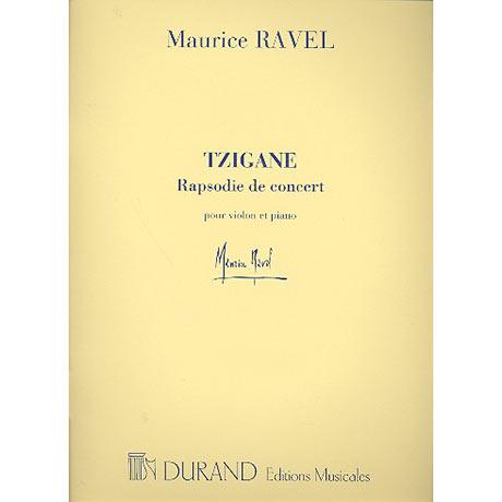 Ravel, M.: Tzigane, Rhapsodie de concert
