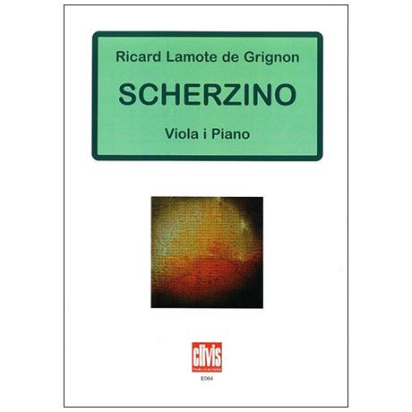 Lamote de Grignon, R.: Scherzino