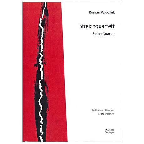 Pawollek, R.: Streichquartett
