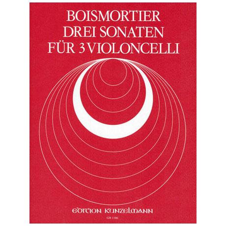 Boismortier, J.B.d.: 3 Sonaten