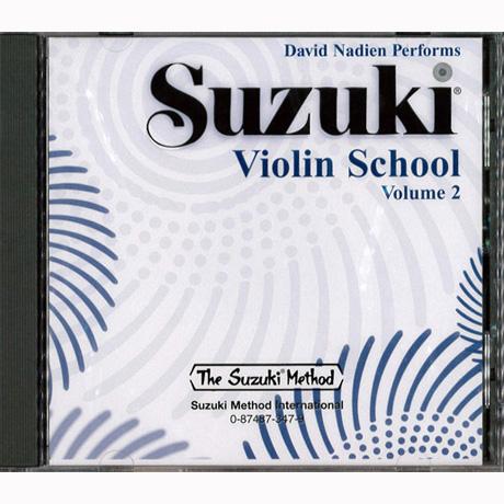 Suzuki Violin School Vol. 2 – CD