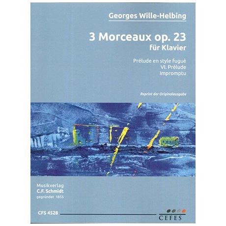 Wille-Helbling, G.: 3 Morceaux Op. 23