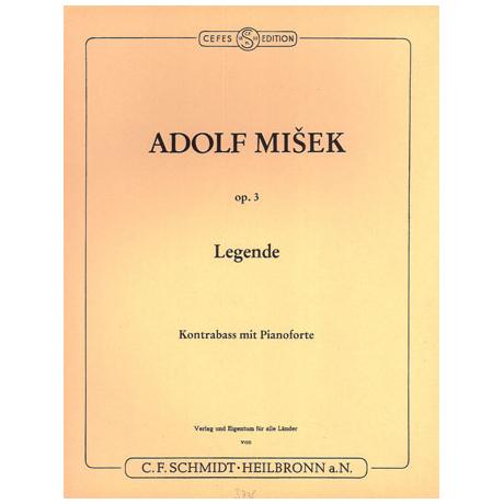 Misek, Adolf: Legende op. 3