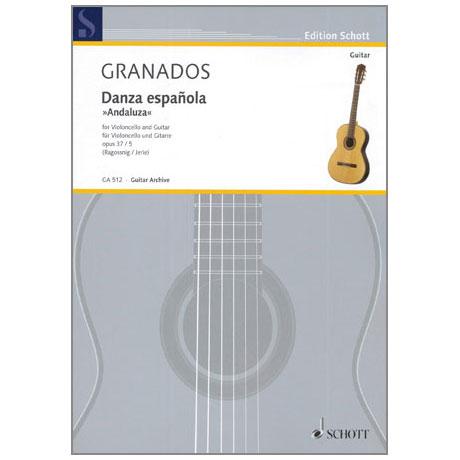 Granados, E.: Danza espanola »Andaluza« Op.37/5