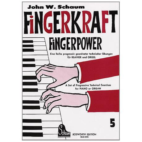 Schaum, John W.: Fingerkraft Band 5