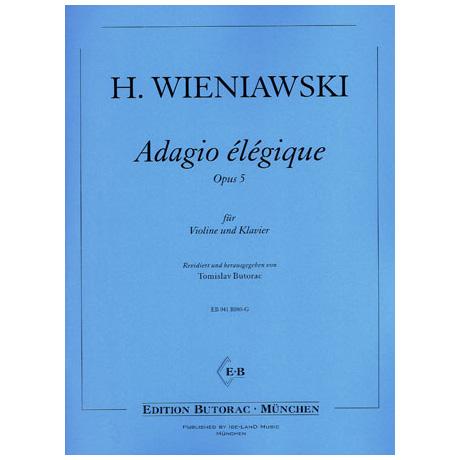 Wieniawski, H.: Adagio elegique Op. 5