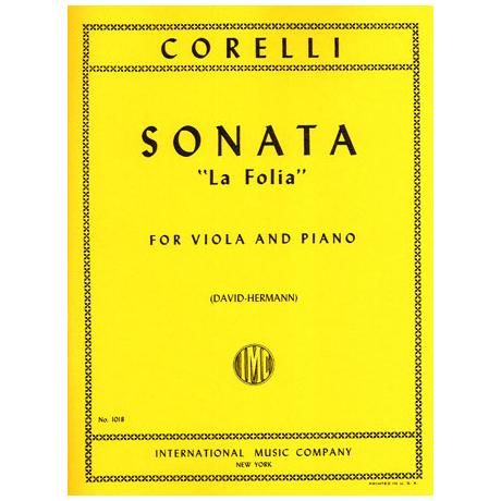Corelli, A.: Violasonate Op. 5/12 »La Folia«