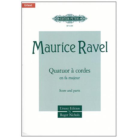 Ravel, M.: Streichquartett F-Dur