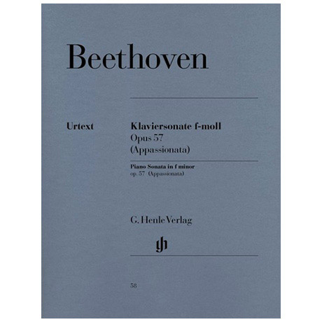 Beethoven, L. v.: Klaviersonate Nr. 23 f-Moll Op. 57 Appassionata