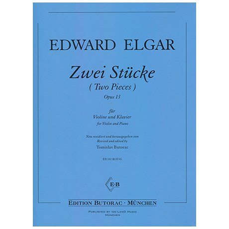 Elgar, E.: Zwei Stücke Op.13