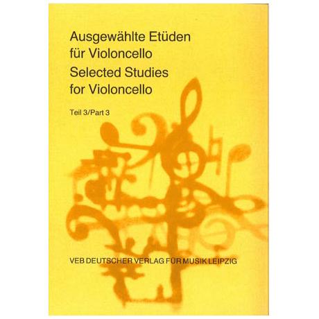 Lösche, H. (Hrsg.): Ausgewählte Etüden für Violoncello Teil 3