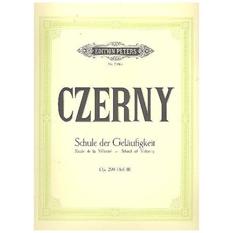 Czerny, C.: Die Schule der Geläufigkeit Op. 299 Band III