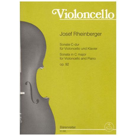 Rheinberger, J. G.: Sonate Op. 92 C-Dur