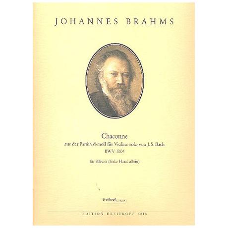Brahms, J.: Chaconne aus der Partita d-moll von J.S. Bach BWV 1004