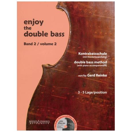 Reinke, G.: Enjoy the double bass Band 2 (+CD)