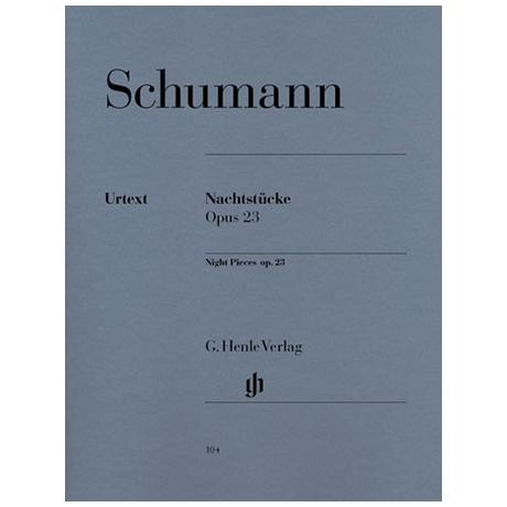 Schumann, R.: Nachtstücke Op. 23