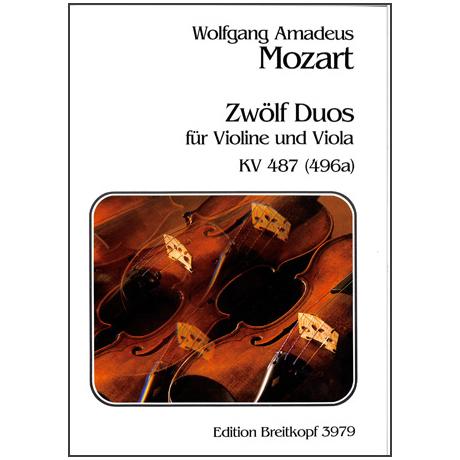 Mozart, W.A.: 12 Duos KV 487
