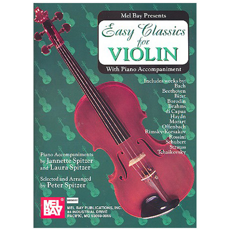 Easy Classics for Violin