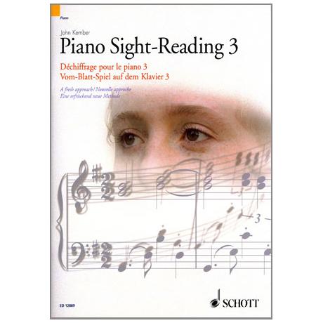 Vom-Blatt-Spiel auf dem Klavier 3