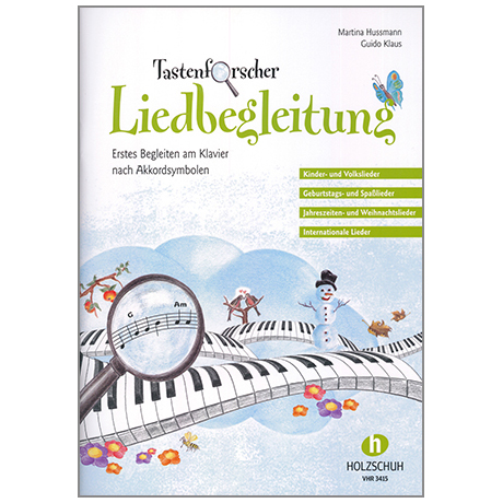 Hussmann / Klaus: Tastenforscher - Liedbegleitung