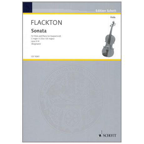 Flackton, W.: Sonate Op. 2/4 C-Dur