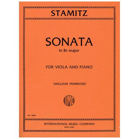 Stamitz, C.: Sonate in B-Dur