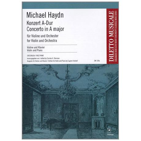 Haydn, J.: Violinkonzert Hob. VIIa: 3 A-Dur