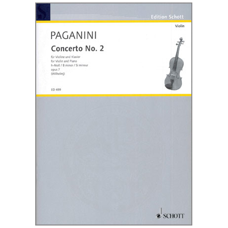 Paganini, N.: Concerto Op.7 Nr.2 h-moll