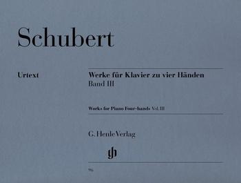 Schubert, F.: Werke für Klavier zu vier Händen Band III