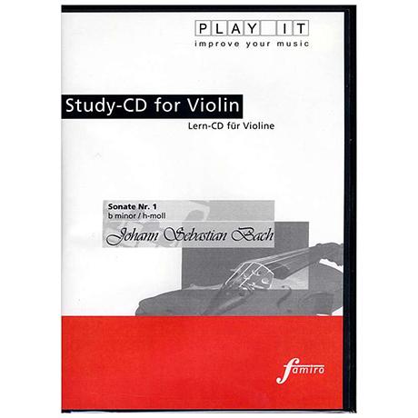 Bach, J. S. : Sonate Nr. 1, h-moll (nur CD)