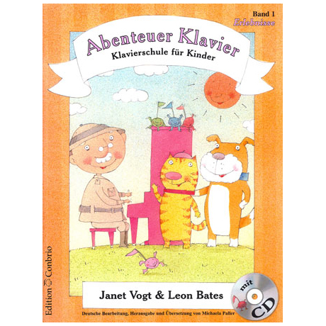 Vogt / Bates: Abenteuer Klavier Band 1 (+CD)