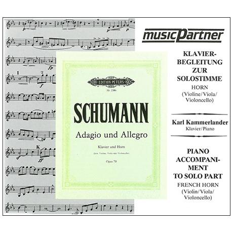 Schumann, R.: Adagio und Allegro Op. 70 Compact-Disc CD