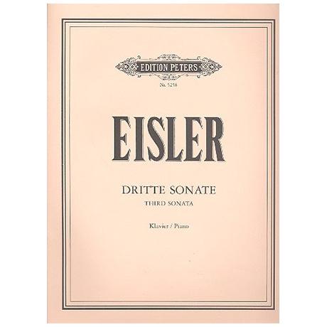 Eisler, H.: Dritte Sonate (1943)