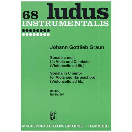 Graun, J. G.: Sonate c-moll