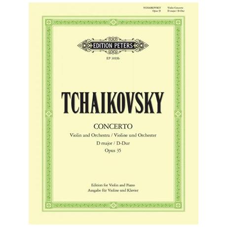 Tschaikowski, P.I.: Violinkonzert D-Dur, Op.35