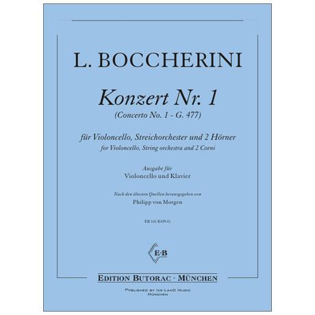Boccherini, L.: Violoncellokonzert Nr. 1 G 477 C-Dur