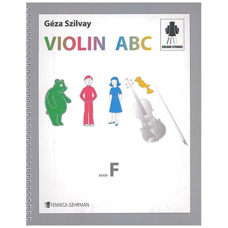 Colourstrings Violin ABC Book F