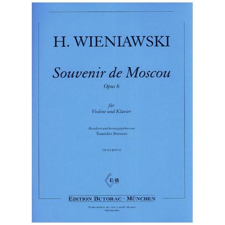 Wieniawski, H.: Souvenir de Moscou Op. 6