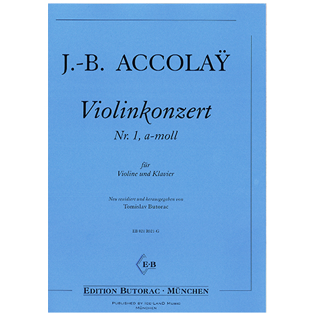 Accolay, J.-B.: Violinkonzert a-moll Nr. 1