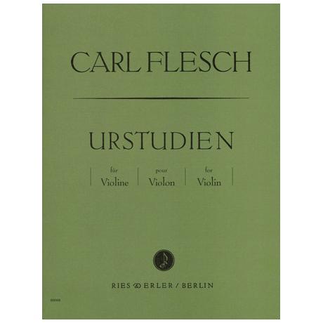 Flesch, Carl: Urstudien