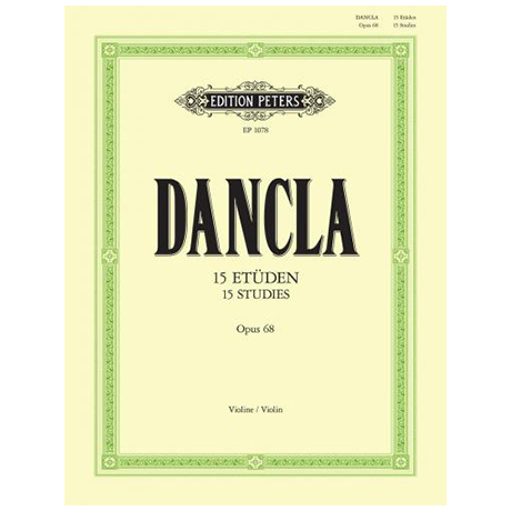 Dancla, J. B. Ch.: 15 Etüden Op. 68