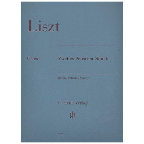 Liszt, F.: Zweites Petrarca-Sonett