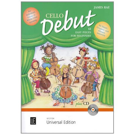 Rae, J.: Cello Debut (+CD)