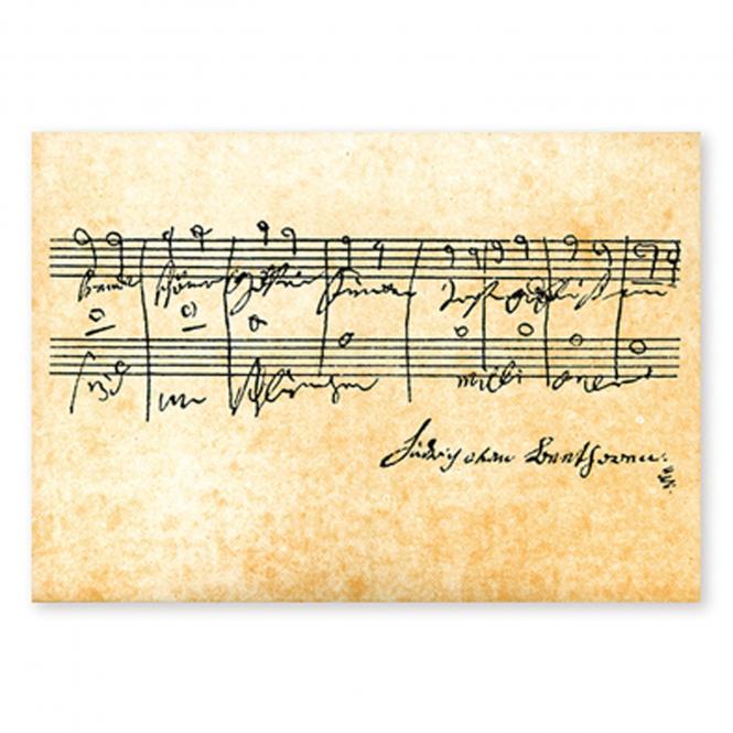 Postkarte Beethoven